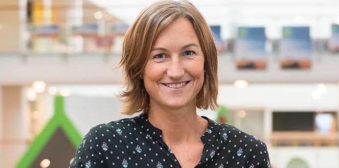 Karin Anmå, hållbarhetsstrateg på ICA.