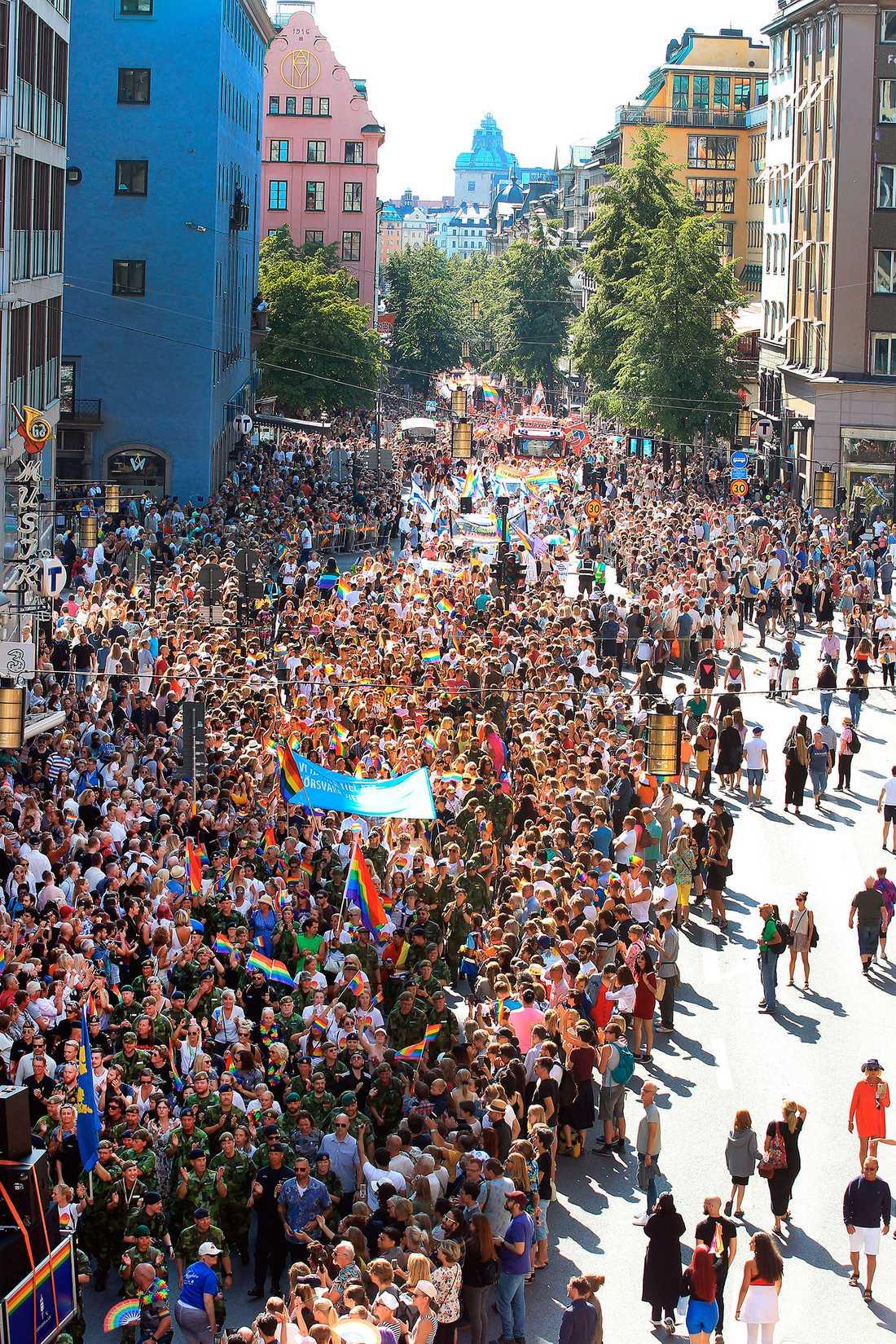 Stockholm Pride 2019.