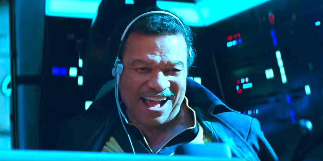 """Billy Dee Williams i """"Star wars: The rise of Skywalker""""."""