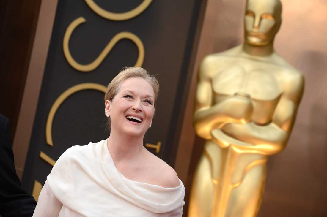 Skådespelerskan Meryl Streep har vunnit flera Oscars.