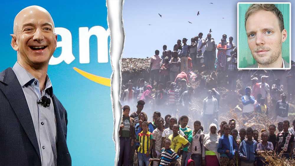 Endast cirka en procent av världens rikaste mans Jeff Bezos (grundare av Amazon) förmögenhet skulle räcka för att finansiera hela Etiopiens hälso- och sjukvårdsbudget, ett land där det bor 105 miljoner människor, skriver debattören Robert Höglund, Oxfam.