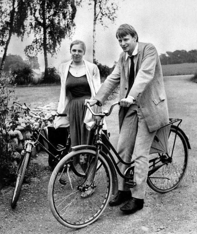 My och Stellan på 50-årsfirande hos Hasse Alfredson 1981