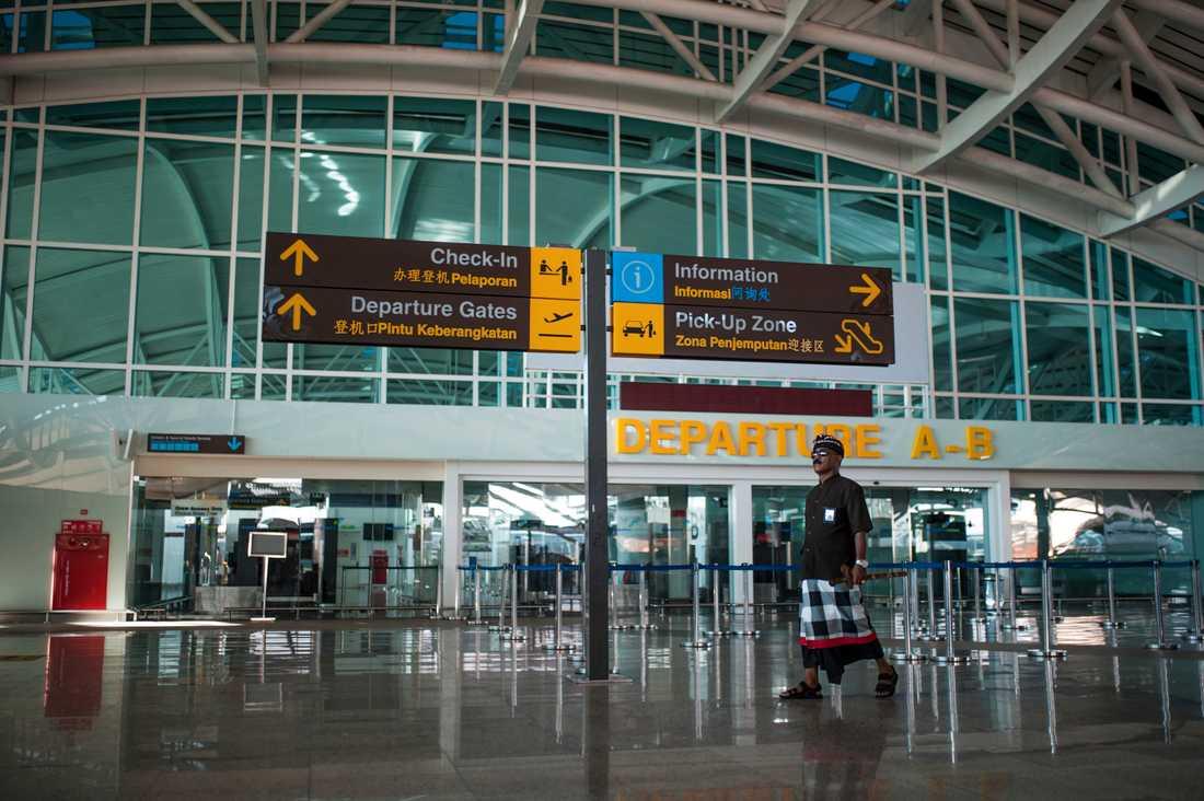 Flygplatsen på Bali.