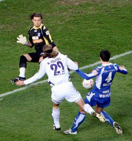 Frutos gjorde 1–0-målet.