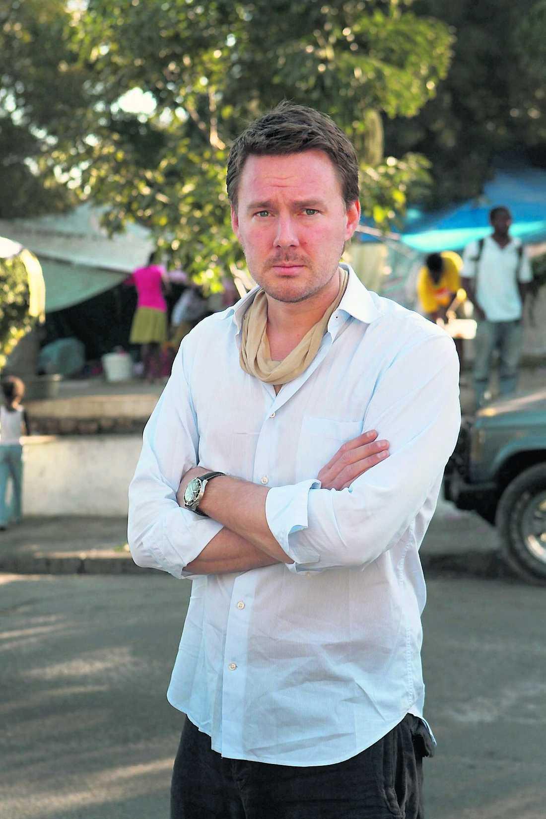 Aftonbladets Mattias Carlsson är på plats i Port-au-Prince.