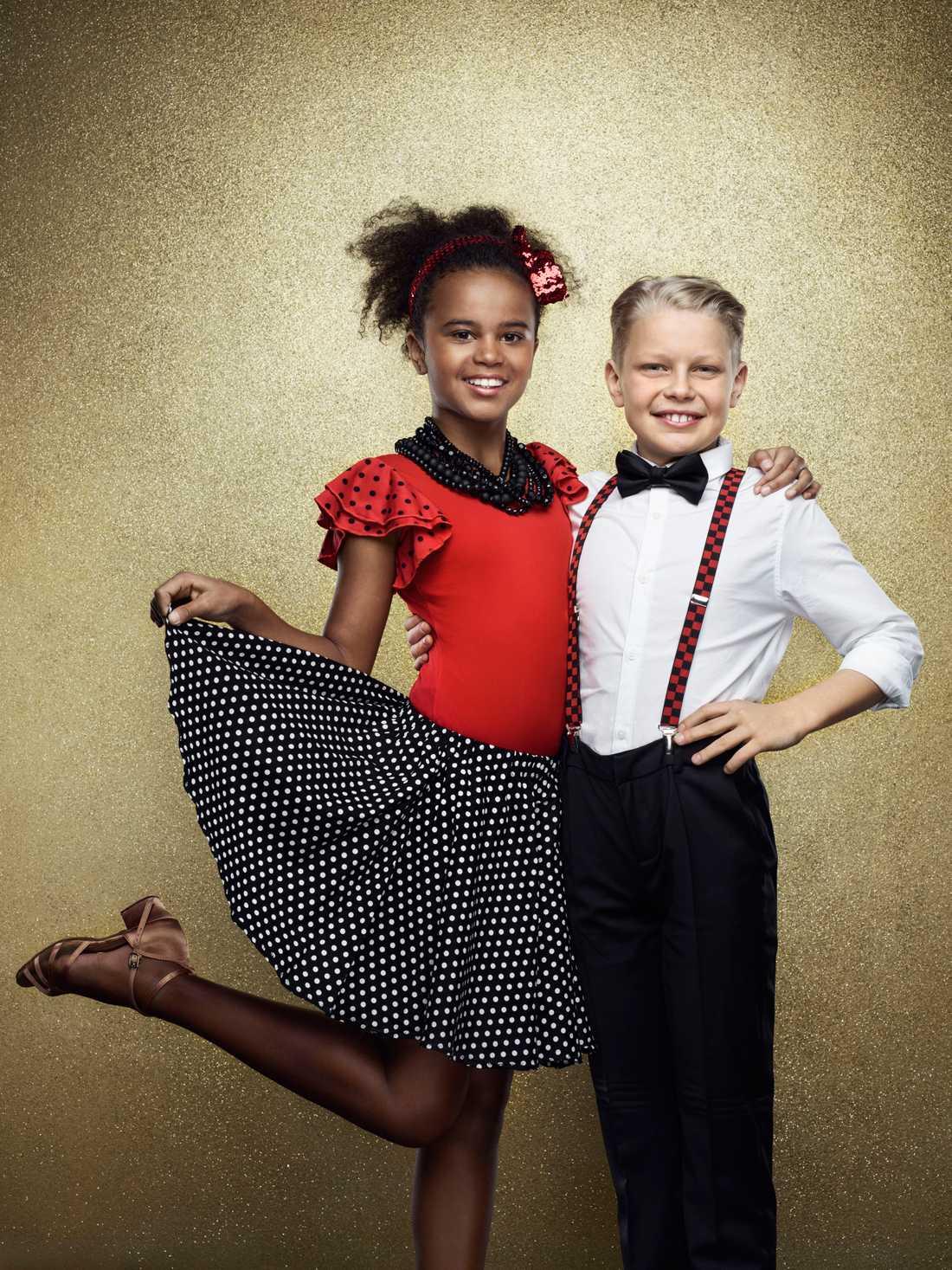 Cleo Andersson, 12 år. Känd från Sveriges yngsta mästerkock och dansar med Kaspar Olsson.