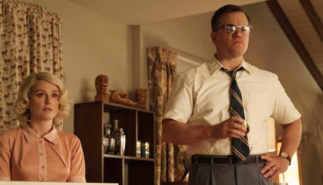 """Julianne Moore och Matt Damon spelar huvudrollerna i filmen """"Suburbicon""""."""