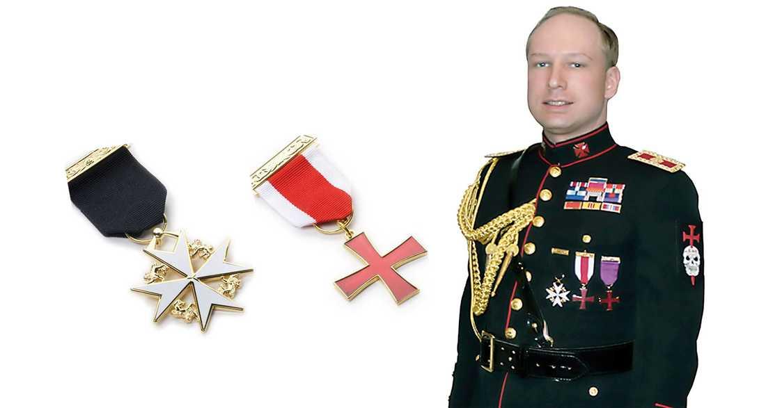 """BLUFF Christian Braunstein, pensionerad överstelöjtnant, sågar Breiviks uniform: """"Det är en fantasiprodukt""""."""