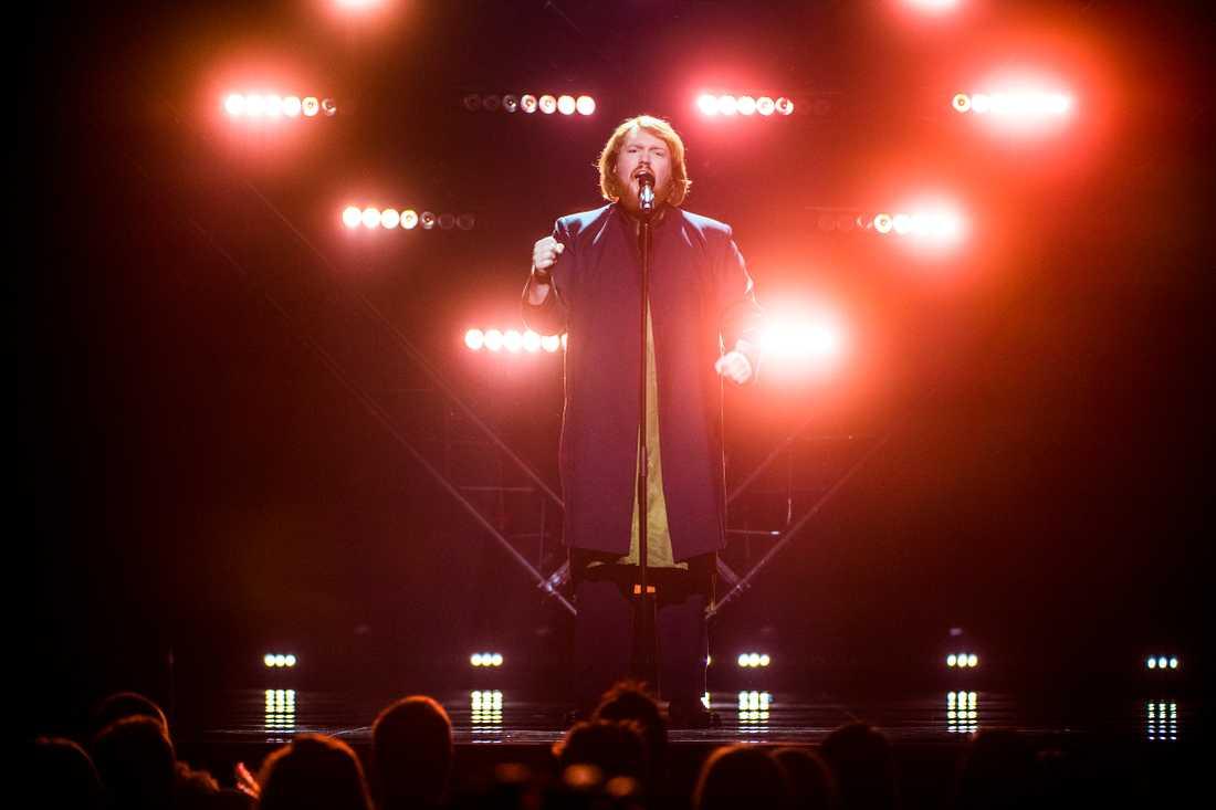 """Martin Almgren kommer delta i finalen av Melodifestivalen med låten """"A bitter lullaby""""."""