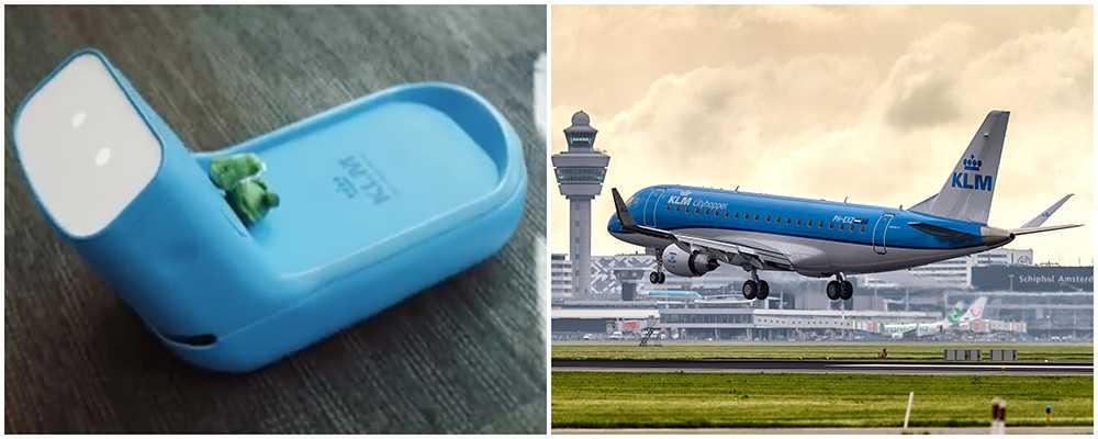 Flygplatsroboten Care-E tar hand om din väska och letar upp rätt gate.