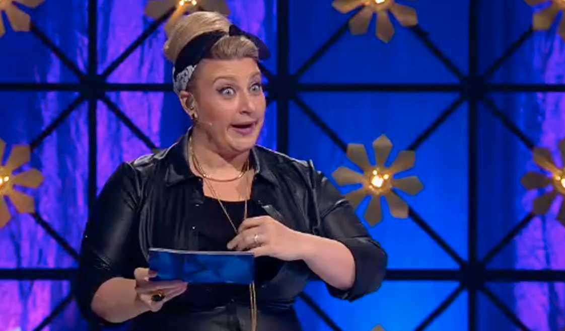 """Sarah Dawn Finer i """"Så ska det låta""""."""