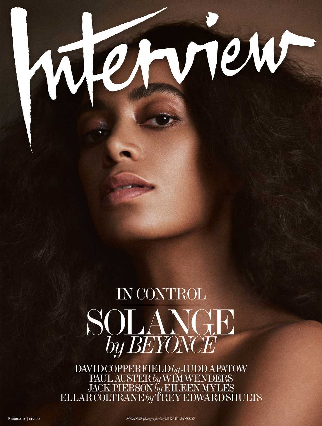 Solange Knowles, Interview Magazine.