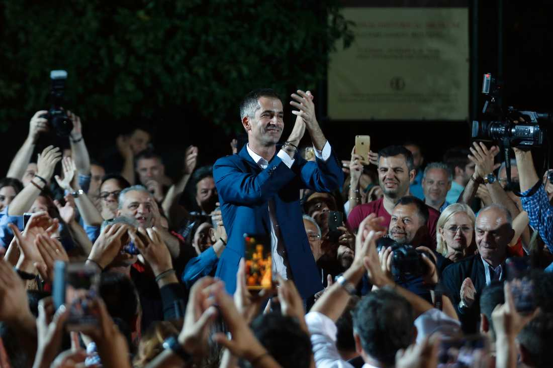 Ny demokratis borgmästarkandidat i Aten, Kostas Bakoyannis.