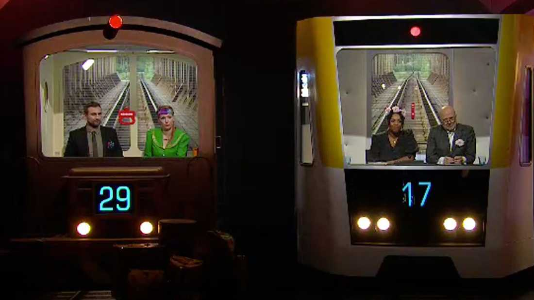 """29–17 slutade finalen i """"På spåret"""" 2018."""