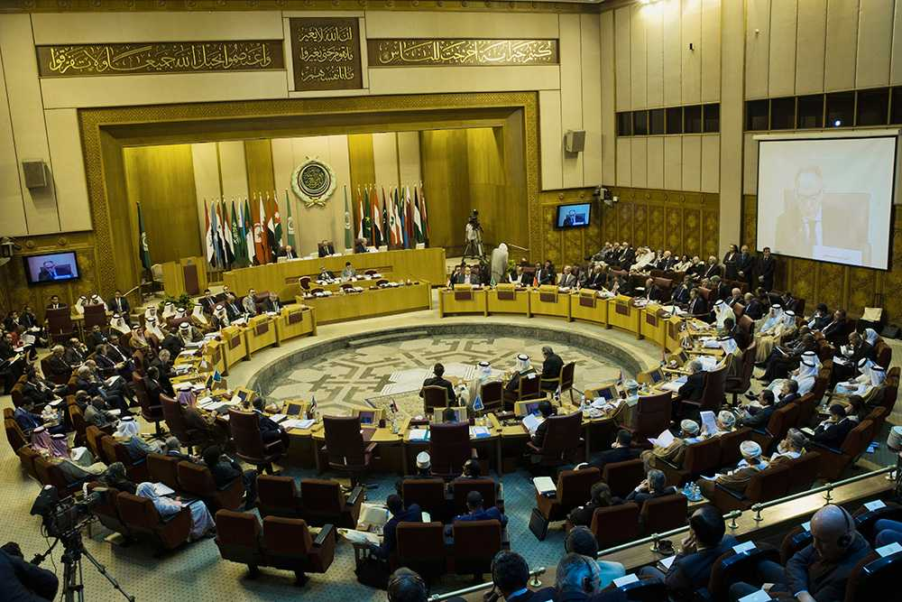 Samtliga de arabiska utrikesministrarna gick emot Margot Wallström efter hennes uttalanden om Saudiarabien.