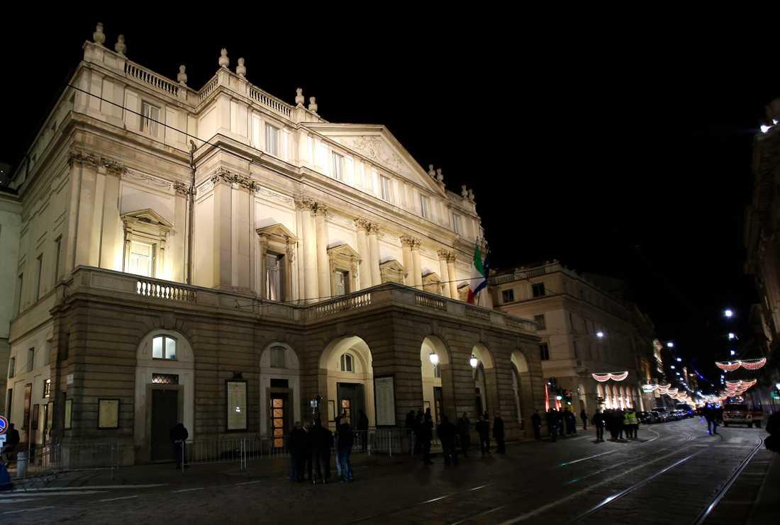 Operahuset La Scala håller stängt