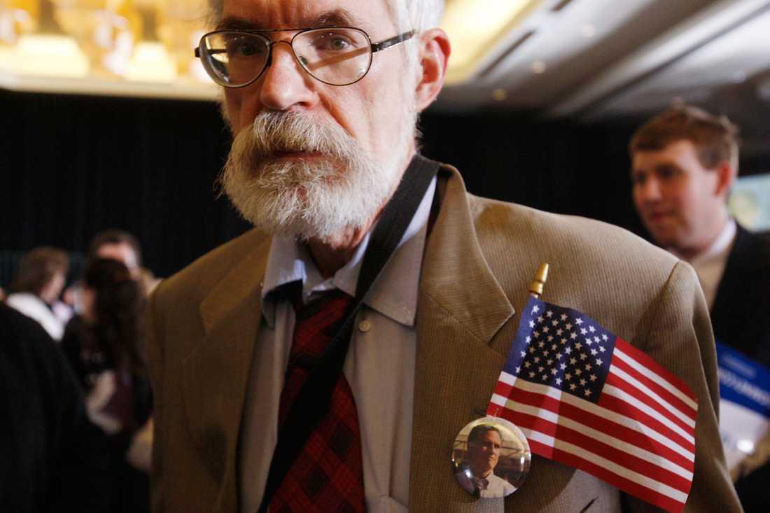 En av Mitt Romneys anhängare.
