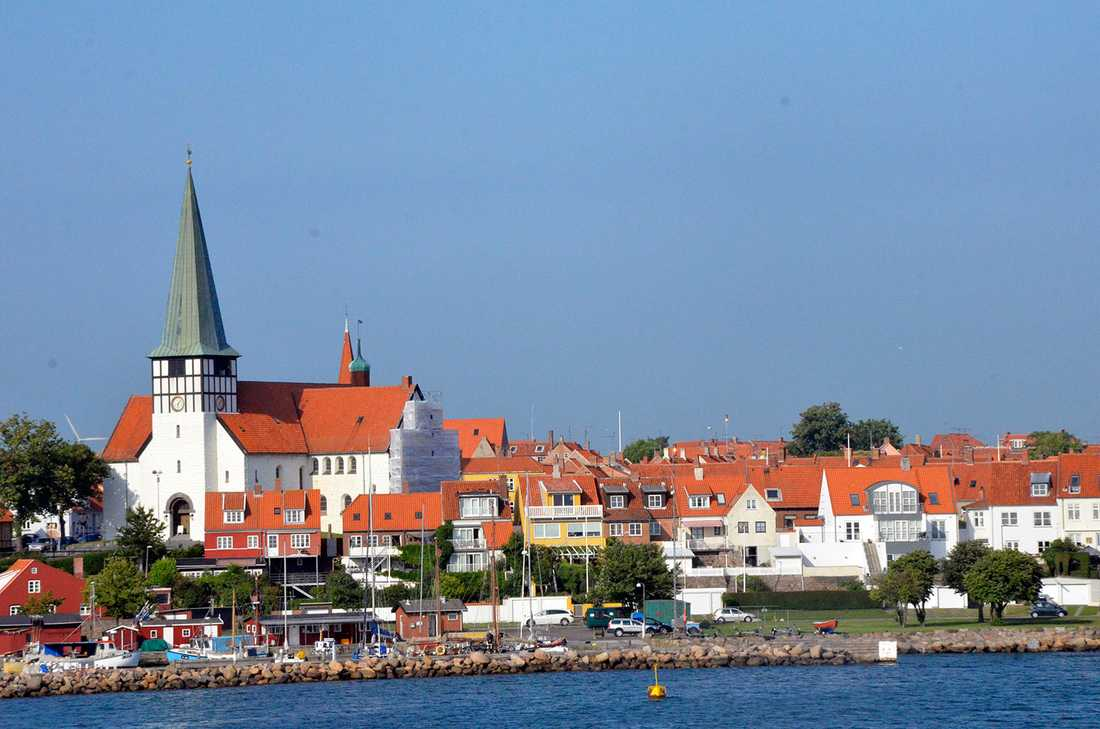 Bornholms huvudstad Rönne.