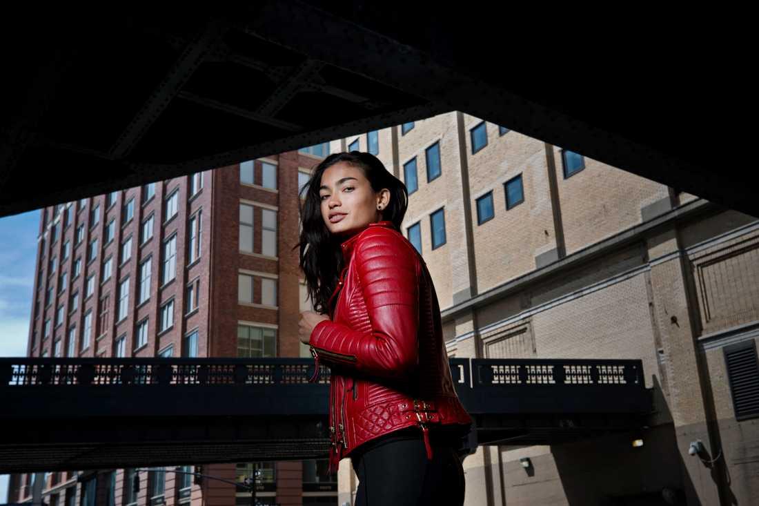 Svenska supermodellen Kelly Gale i New York