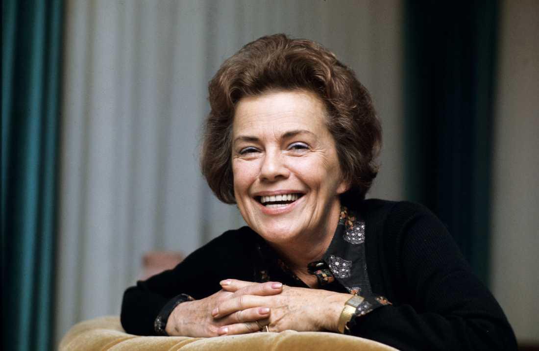 1975 Här porträtterades Sickan av Aftonbladet i mitten av 70-talet. Redan då var hon en av de stora legendarerna inom svensk film.
