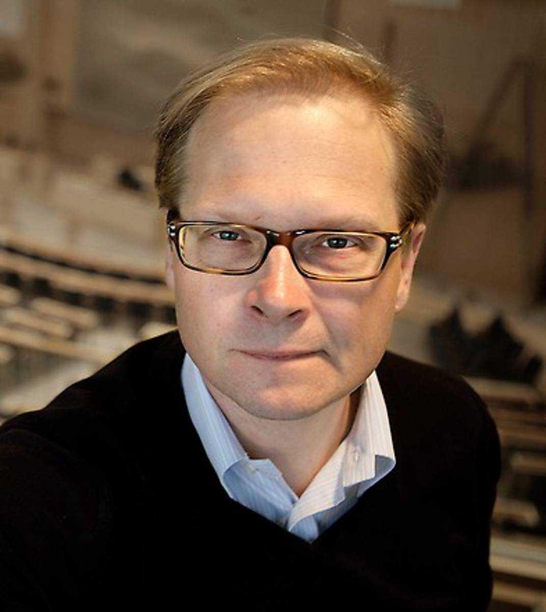 Mats Knutson, journalist, SVT.