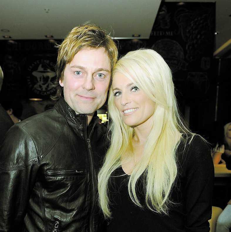 Niclas Wahlgren och Laila Bagge.