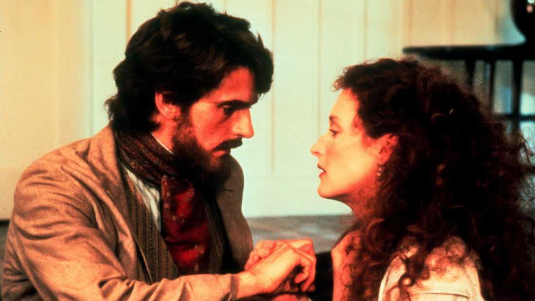 """Jeremy Irons och Meryl Street i """"Den franska löjtnantens kvinna""""."""