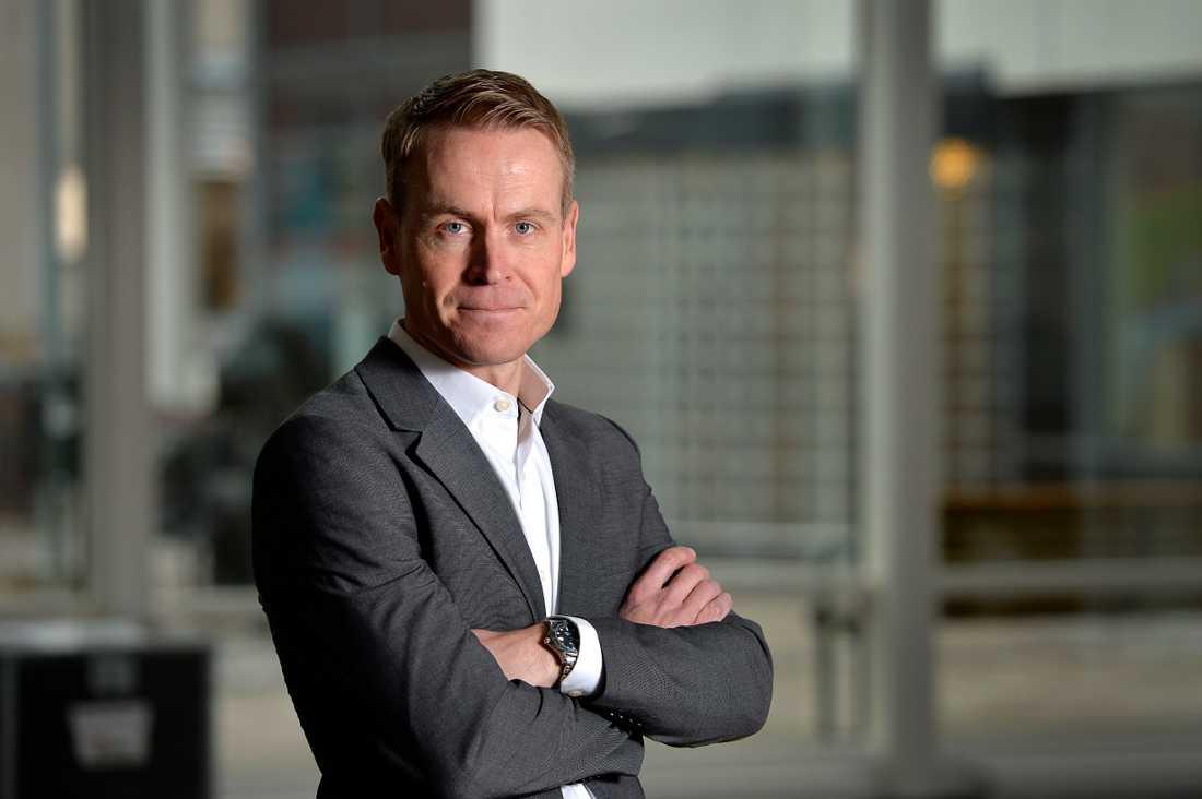 Linus Eriksson, trafikdirektör hos Skånetrafiken. Arkivbild.