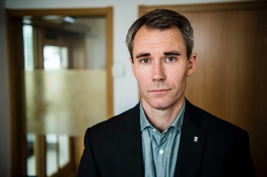 David Norrfjärd är grundskolechef i Huskvarna kommun.