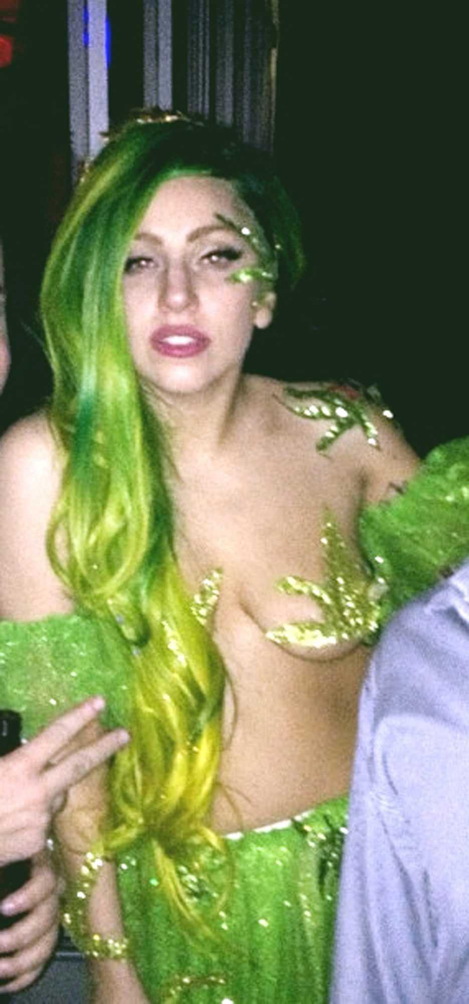 Gaga utklädd.
