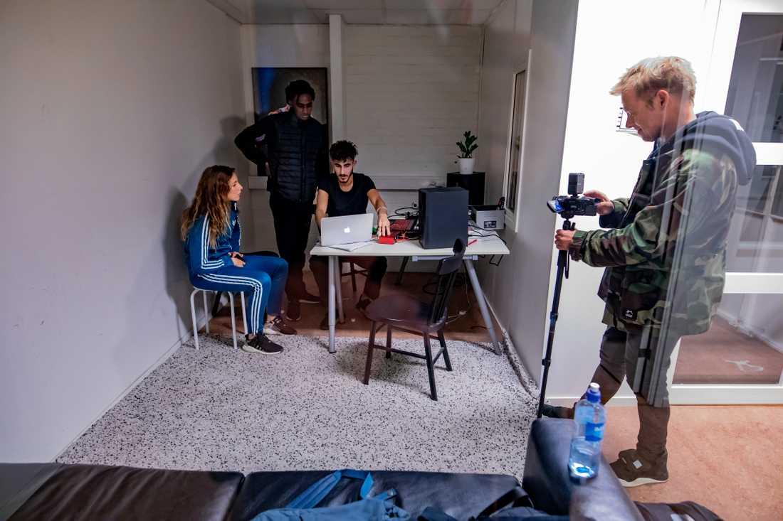 Musikjournalisten Per Sinding-Larsen gör en Svt-dokumentär om Z.E och Team Platina.