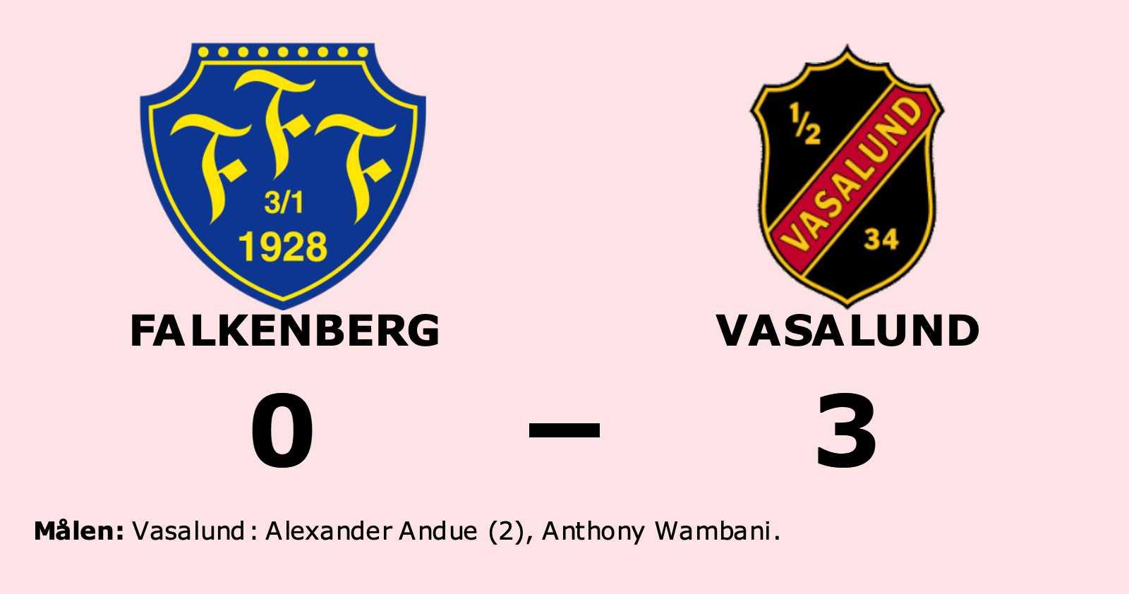 Andue gjorde två mål när Vasalund vann