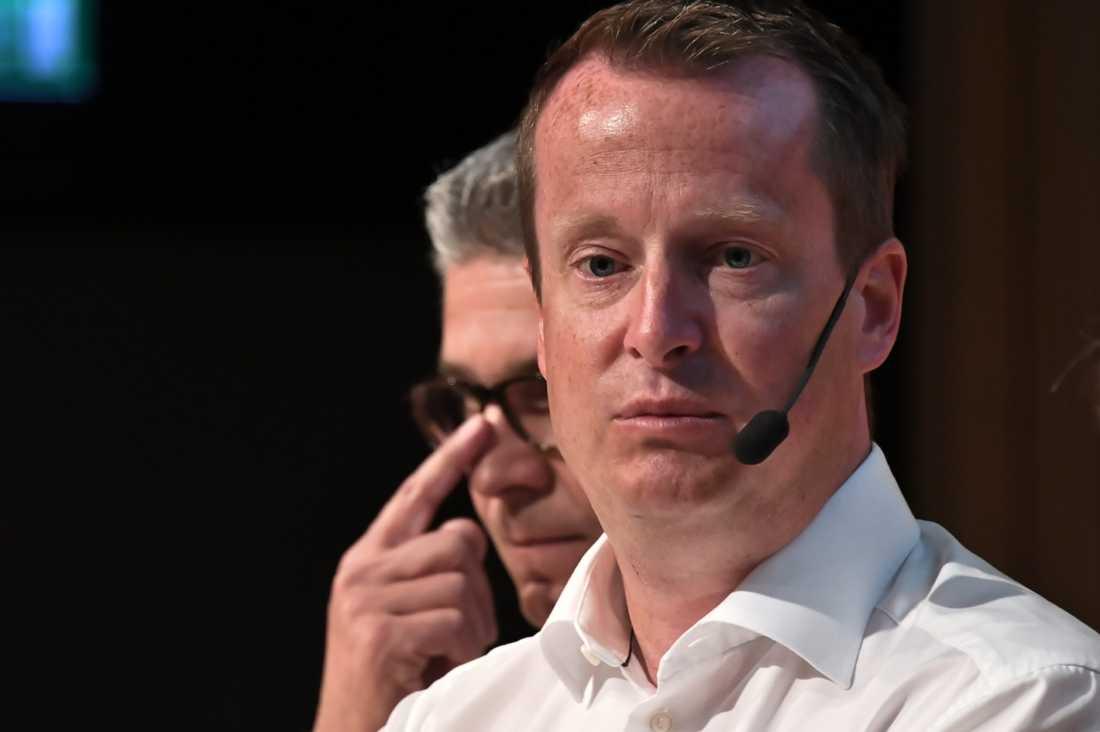Anders Ygeman, inrikesminister, i paneldiskussion om våldsbejakande extremister i kommunerna.