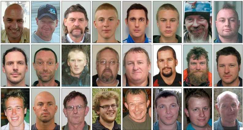 24 av de 29 instängda gruvarbetarna.