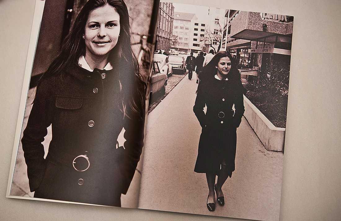 Trots alla bilder har drottningen inte vant sig vid kameror, berättar hon i boken.