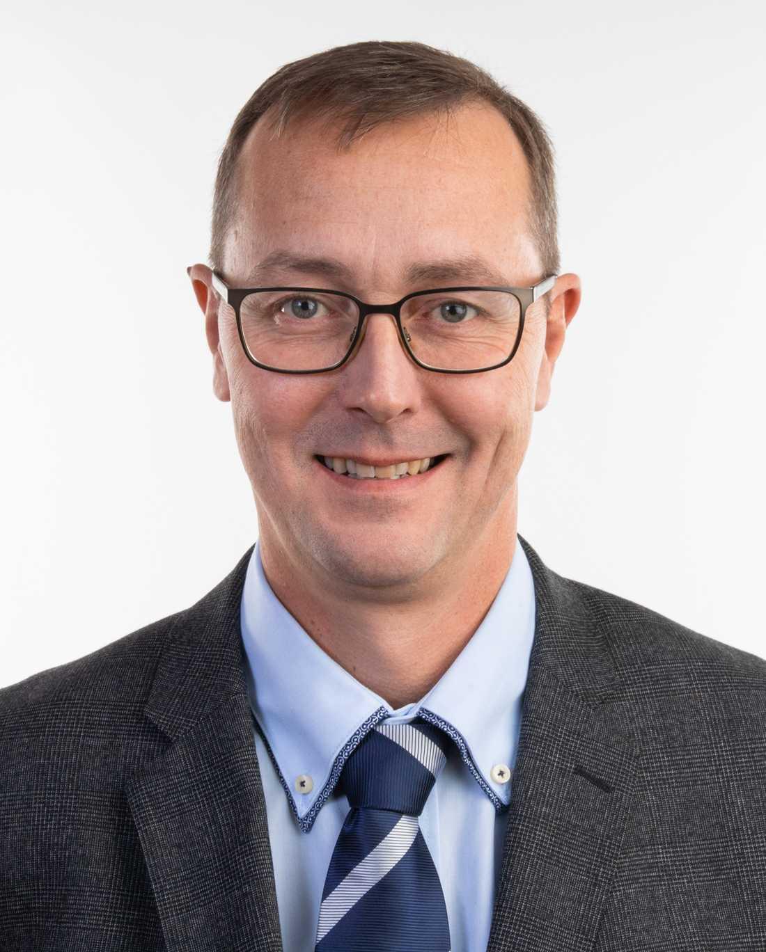 Niklas Joelsson (M), ordförande i Sölvesborgs barn- och utbildningsnämnd.