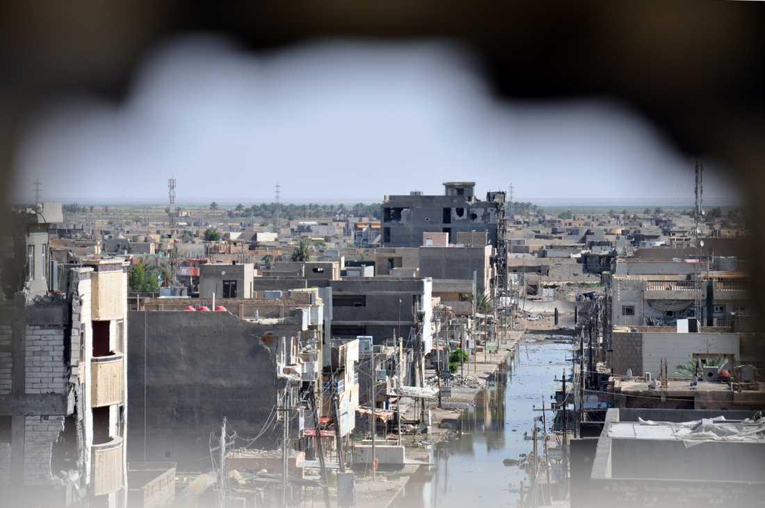 I den ockuperade staden Baiji uppges rebeller gå från dörr till dörr - på jakt efter fruar. – Jag sa till dem att det bara fanns två kvinnor i huset, och att båda var gifta, säger Abu Lahid till The Independent.