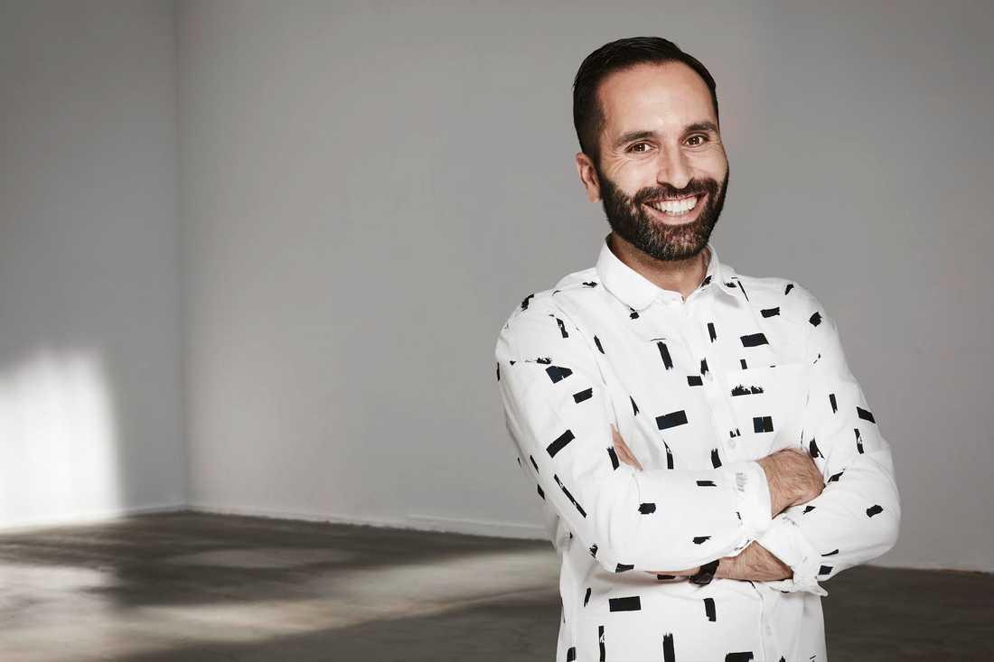 Hanif Hosseini, sportchef Discovery Networks Sweden och Eurosport.
