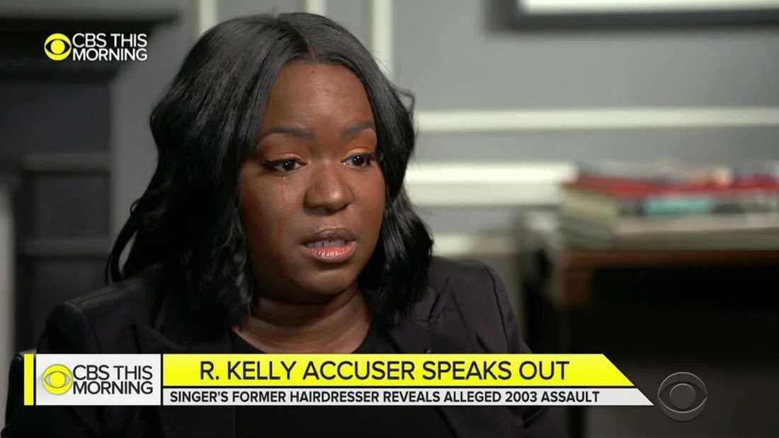 Lanita Carter berättade om övergreppen hon utsattes för av R Kelly i ett CBS-program.