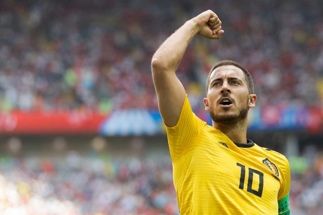Ska Belgiens dribbler Eden Hazard få jubla igen?