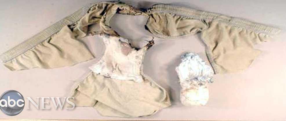 Kalsongbomben som skulle detonera över Detroit 2009 misslyckades.