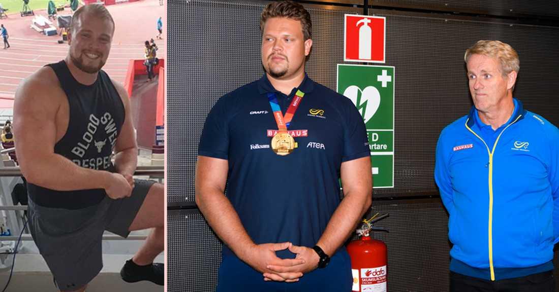 Gudni Valur Gudnason (tv) slog isländsk rekord – och petade ner Vesteinn Hafsteinsson från tronen.