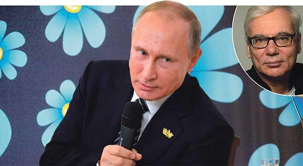 """Ordet """"västmedia"""" används ofta av Putinvänstern och är synonymt med """"medveten lögn"""". Det motsvarar högerpopulismens uttryck """"PK-media"""", skriver Martin Klepke. Bilden är ett montage."""