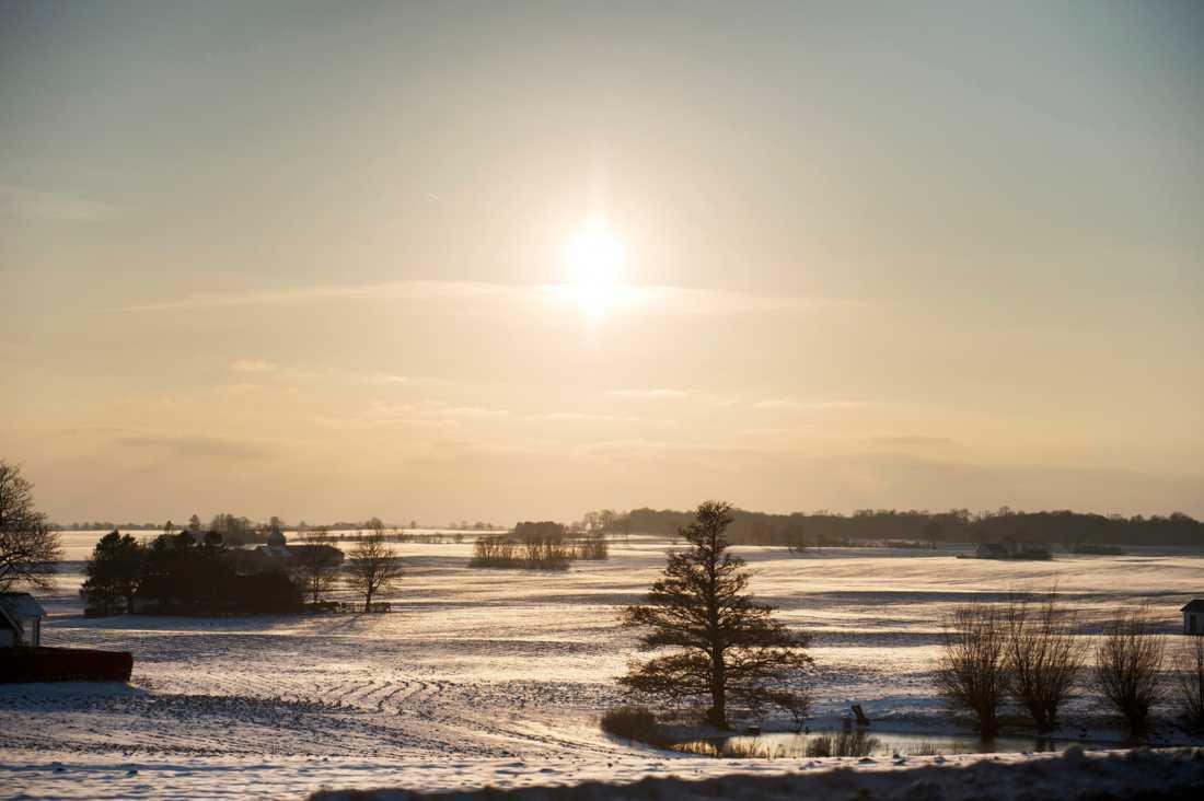 Kallt och klart väder inleder veckan i de norra delarna av landet. Arkivbild.