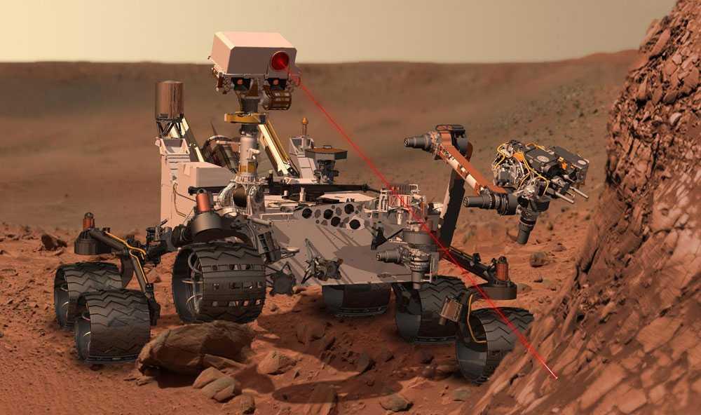 Den amerikanska sonden Curiosity landade på Mars efter sin drygt åtta månader och 25miljoner mil långa färd.
