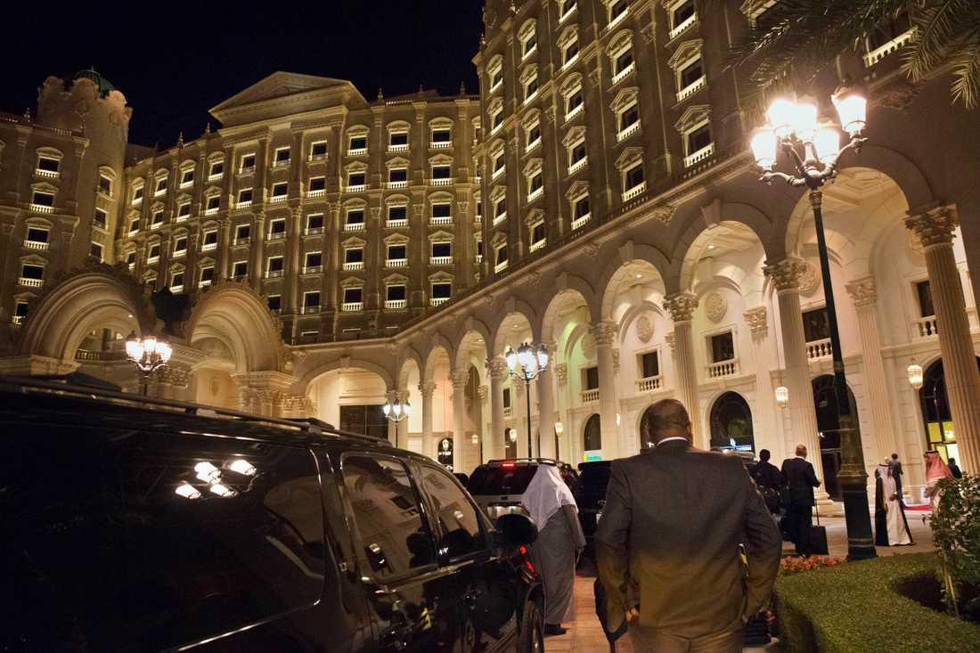 Ogifta män och kvinnor tillåts dela hotellrum i Saudiarabien. Här Ritz Carlton i huvudstaden Riyadh. Arkivbild