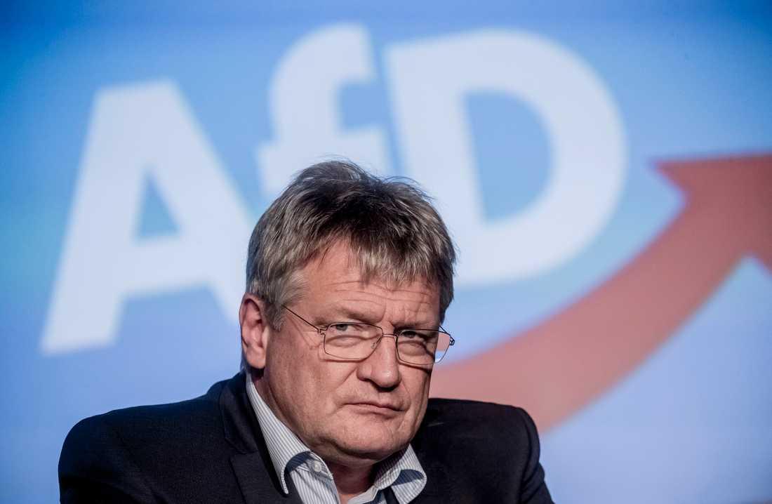 Jörg Meuthen, en av Alternativ för Tysklands (AFD) två ordförande. Arkivbild.