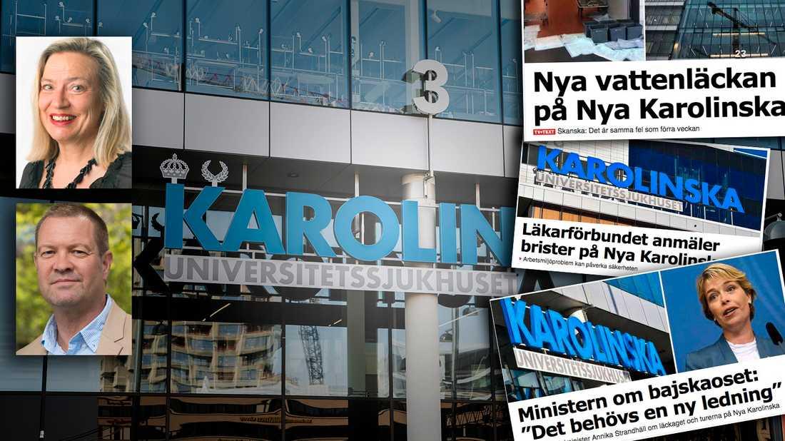 Vi får inte glömma att NKS-affären är en av svensk offentlighets största skandaler, och att borgerligheten i princip sms-lånade för att betala för det, skriver debattörerna.
