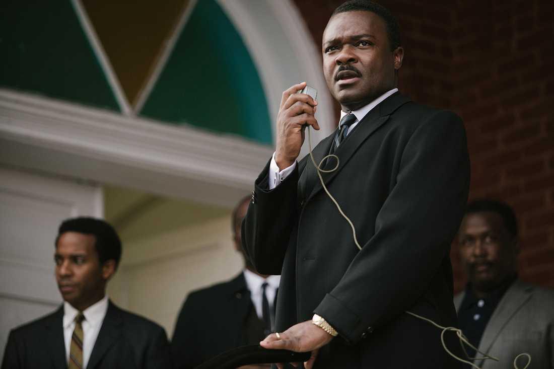"David Oyelowo som Martin Luther King i ""Selma""."