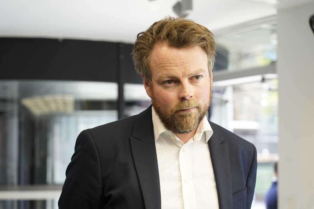 Den norske arbetsmarknadsminister Torbjørn Røe Isaksen (H). Arkivbild.